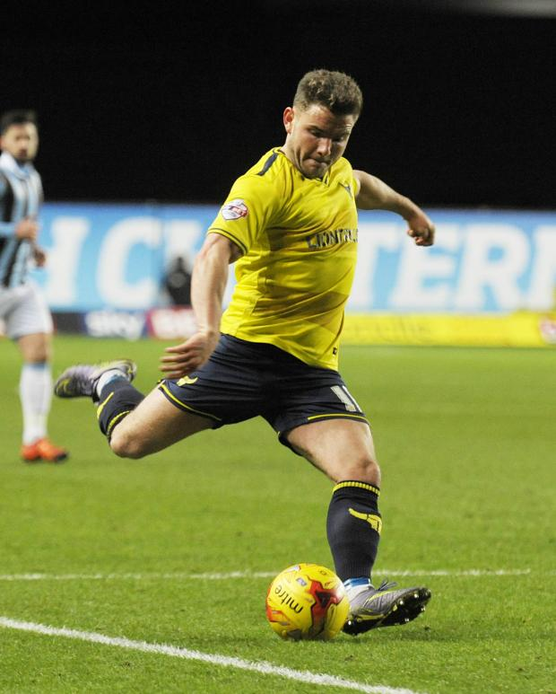 Alex MacDonald says has seen a massive improvement in Oxford United since he joined 12 months ago