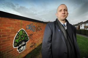 GALLERY: Residents demand action to stop graffiti blighting streets