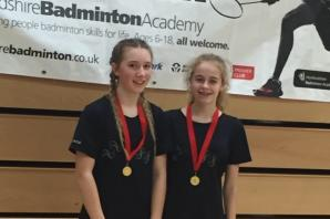 BADMINTON: Oxfordshire's Bronwynn Ready wins gold and silver medals at Bronze tournament